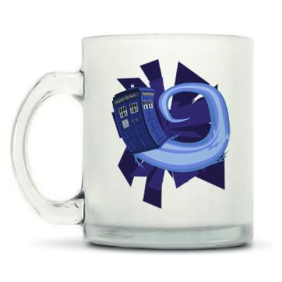 Кружка матовая Tardis, Doctor Who