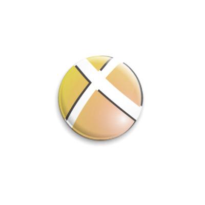 Значок 25мм  X-ball