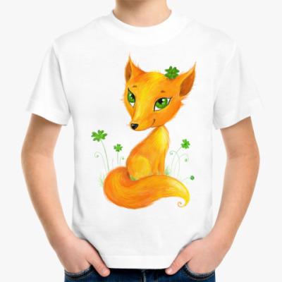 Детская футболка Лисенок
