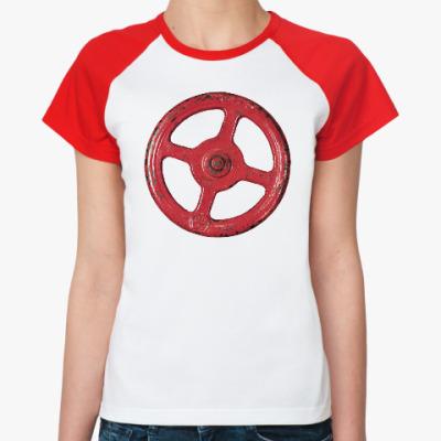 Женская футболка реглан Несчастный Случай