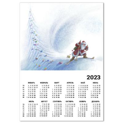 Календарь Ёлочка