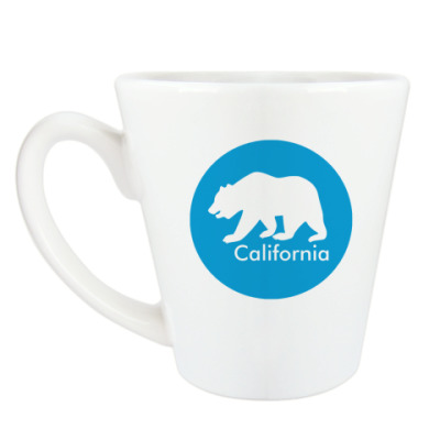 Чашка Латте CA States