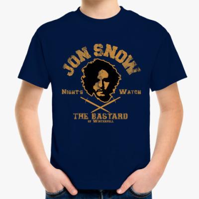 Детская футболка Jon Snow Игра престолов