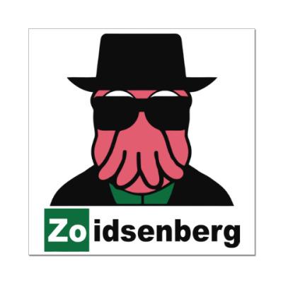 Наклейка (стикер) Zoidsenberg