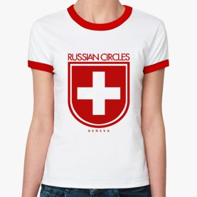 Женская футболка Ringer-T Russian Circles