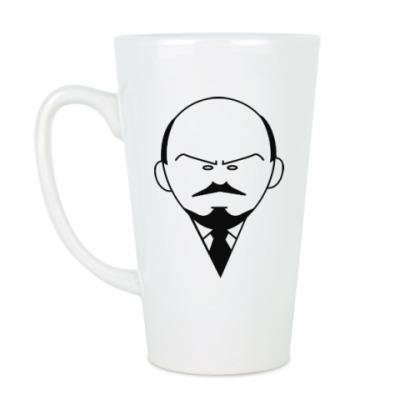 Чашка Латте Ленин