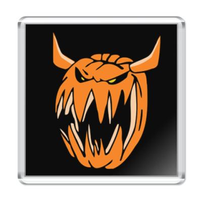 Магнит Evil pumpkin