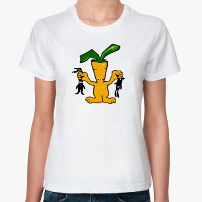 Классическая футболка Морковь