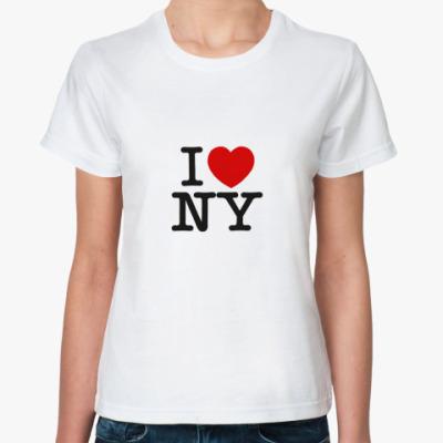 Классическая футболка NY