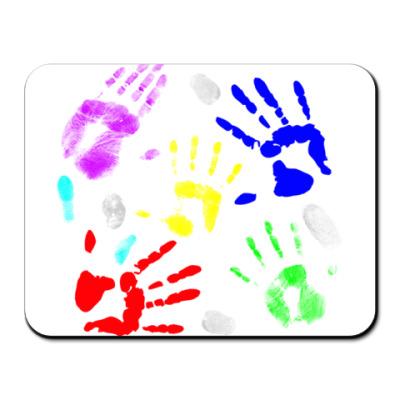 Коврик для мыши  Fingerprints