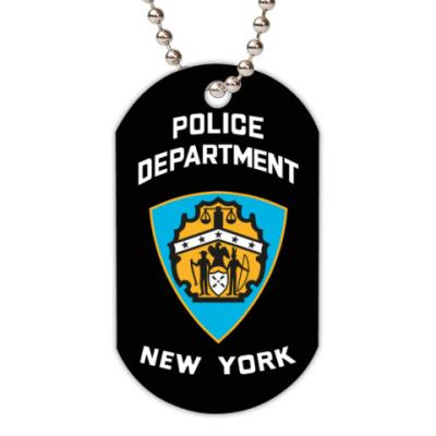 Жетон dog-tag POLICE