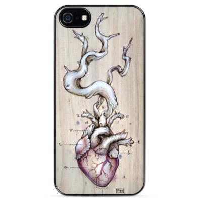 Чехол для iPhone Сердце засухи