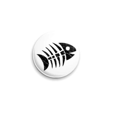 Значок 25мм  «Рыба»