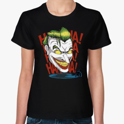 Женская футболка Джокер (Бэтмен)