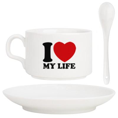 Кофейный набор Люблю свою жизнь