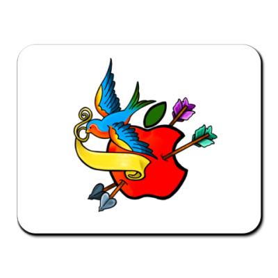 Коврик для мыши  Apple flash