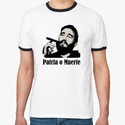 Футболка Ringer-T Patria o muerte