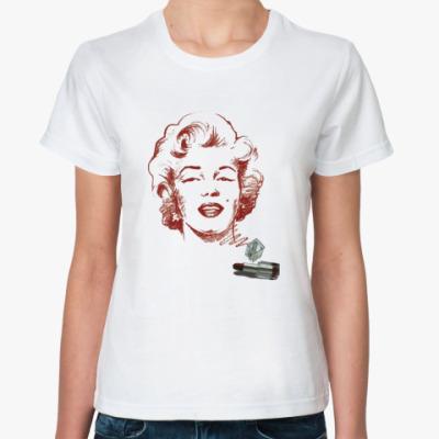 Классическая футболка Мерилин Монро
