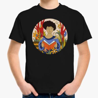 Детская футболка Книга - лучшая подружка