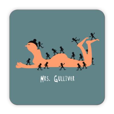 Костер (подставка под кружку) Миссис Гулливер