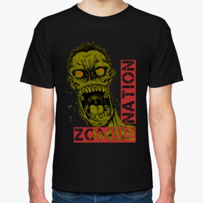Футболка Нация зомби