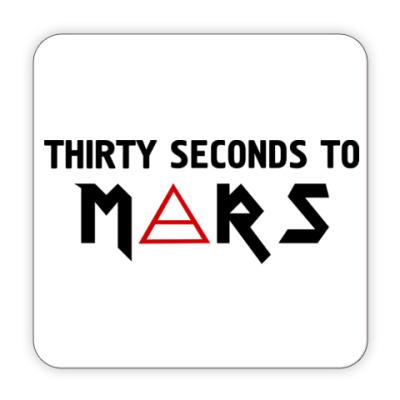 Костер (подставка под кружку) Thirty seconds to mars