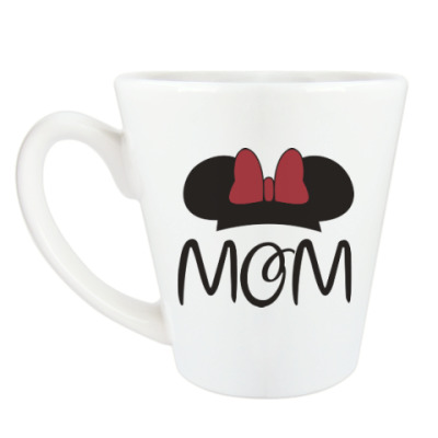 Чашка Латте Mom