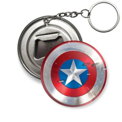 Брелок-открывашка Capitan America