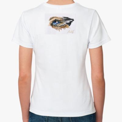 Классическая футболка Воображение- глаза души