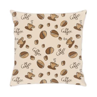 Подушка Кофе