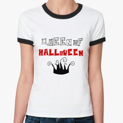 Женская футболка Ringer-T   Королева