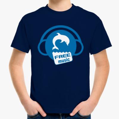 Детская футболка Free Music