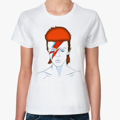 Классическая футболка David Bowie