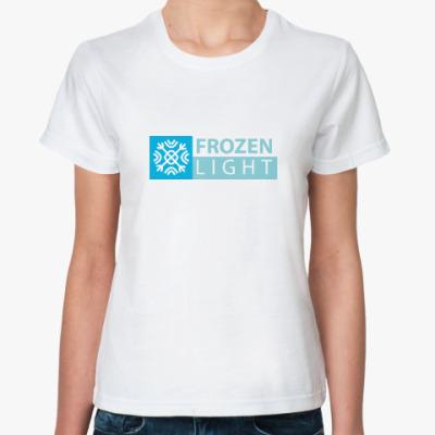 Классическая футболка frozen light