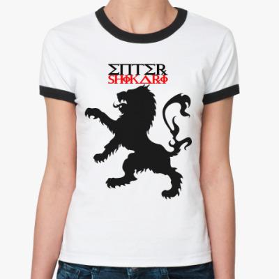 Женская футболка Ringer-T Enter Shikari