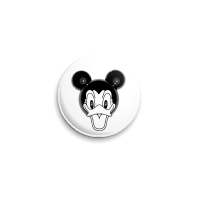 Значок 25мм Donald Mickey