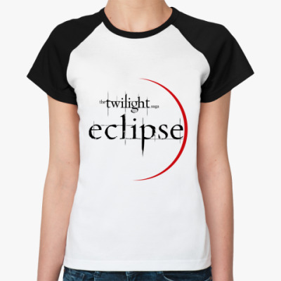 Женская футболка реглан Eclipse