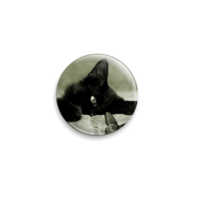 Значок 25мм 'cat'