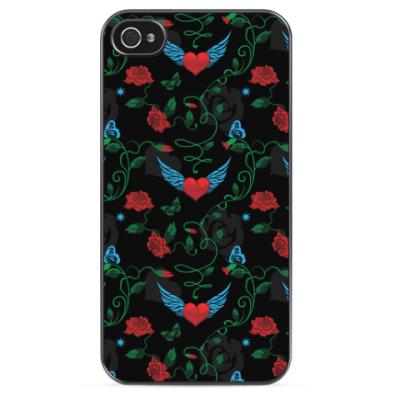 Чехол для iPhone  Сердце с крыльями