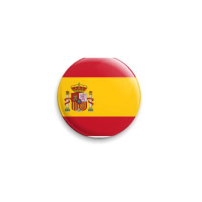Значок 25мм  Испания ()