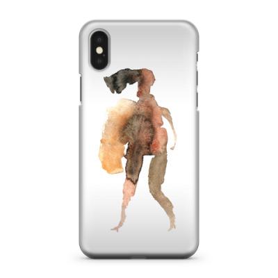 Чехол для iPhone X Ангел