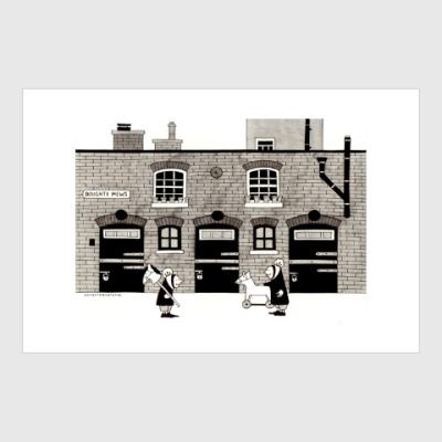Постер London mews
