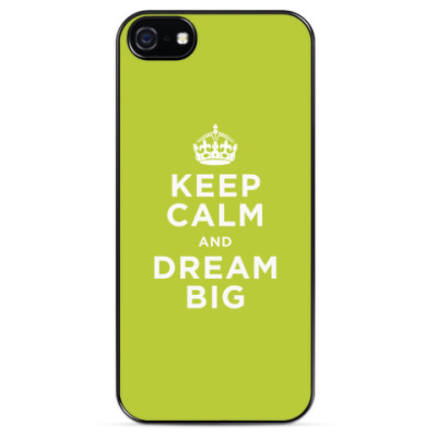 Чехол для iPhone Мечтай
