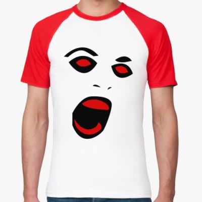 Футболка реглан Scream