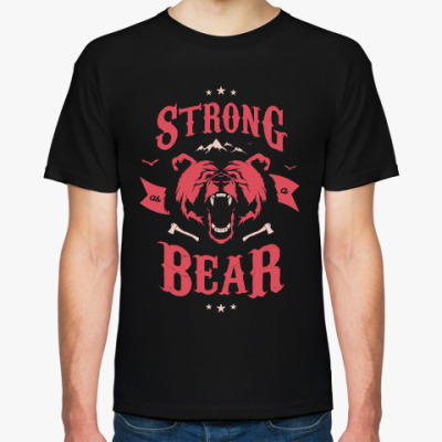 Футболка Оскал медведя