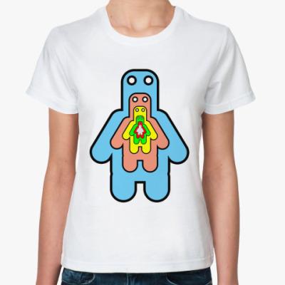Классическая футболка все в одном