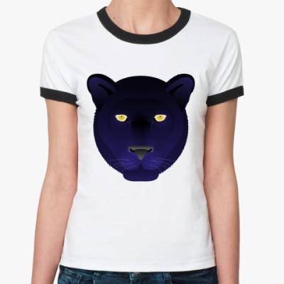 Женская футболка Ringer-T   Panthera