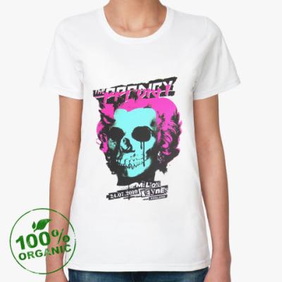 Женская футболка из органик-хлопка  органик War Hole