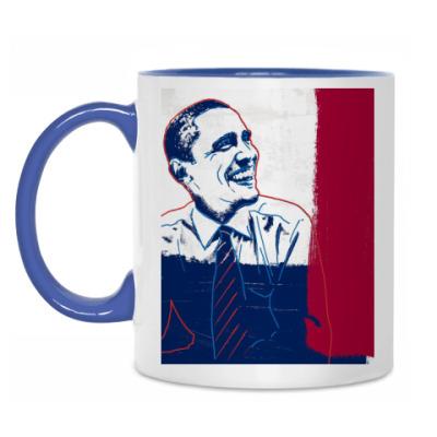 Кружка Барак Обама