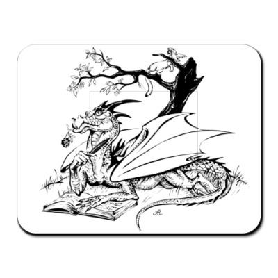 Коврик для мыши  Dragon&Rose